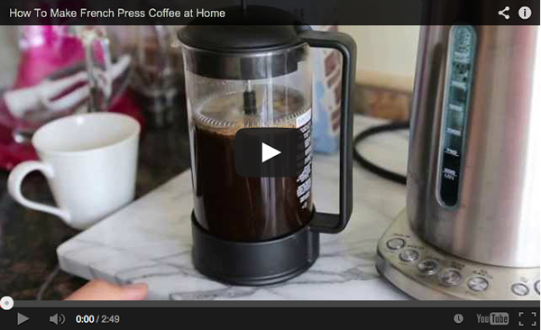How To Make French Press Coffee At Home Table For Two