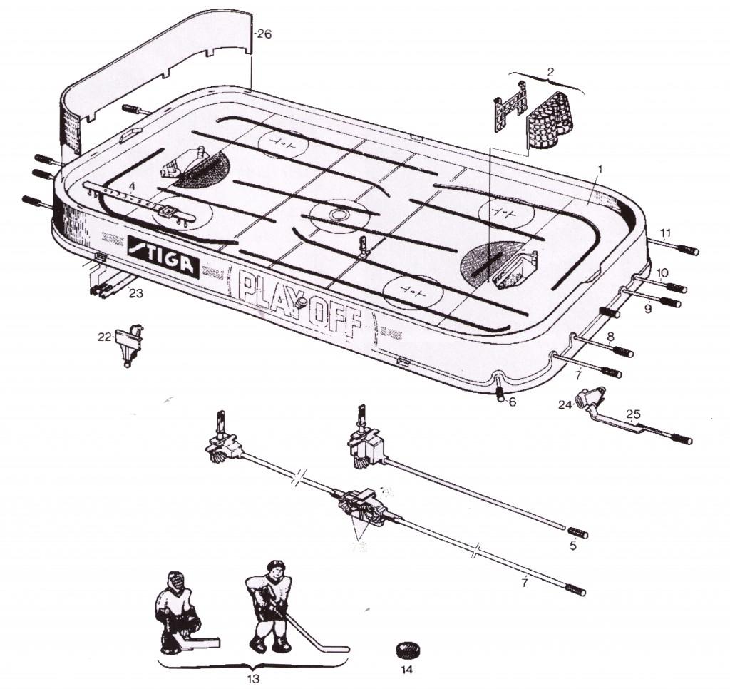 Stiga Parts Diagram