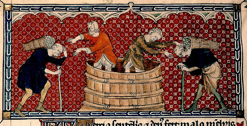 medieval winemaking