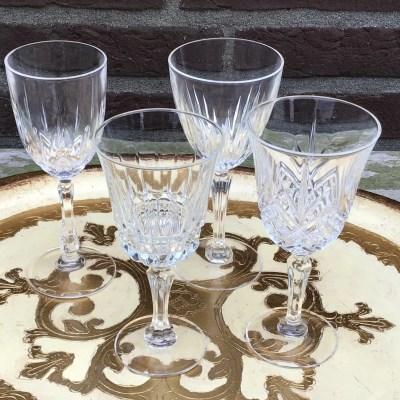 Vintage wijnglas huren huur verhuur