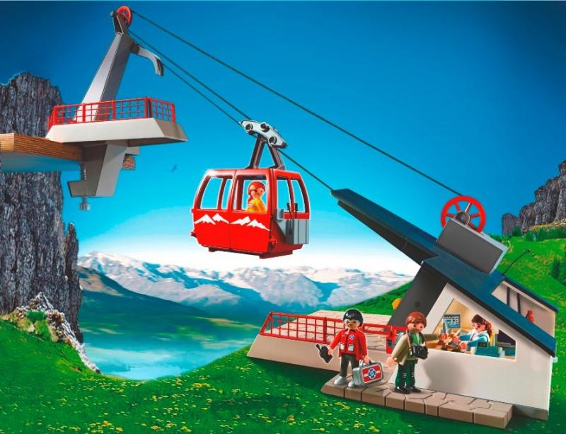 children table and chair set flip fold high playmobil alpine cable car 5426 | mountain toys