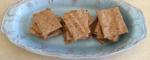 Spicy Paleo Crackers