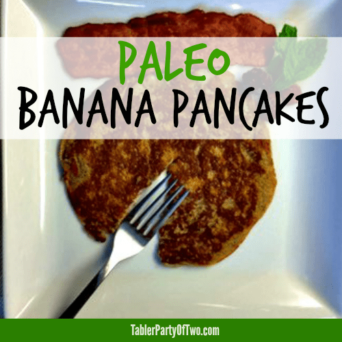 Paleo Banana Pancakes... delicious and so healthy!