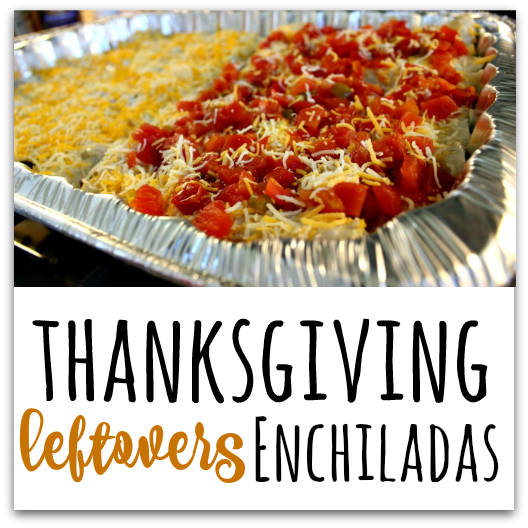 YUM! Here are three amazing ways to make easy and delicious enchiladas from your holiday leftovers! The three recipes include Turkey/Green Chili Enchiladas, Turkey/Stuffing/Gravy Enchiladas, and Spinach Madeline Enchiladas! TablerPartyofTwo.com