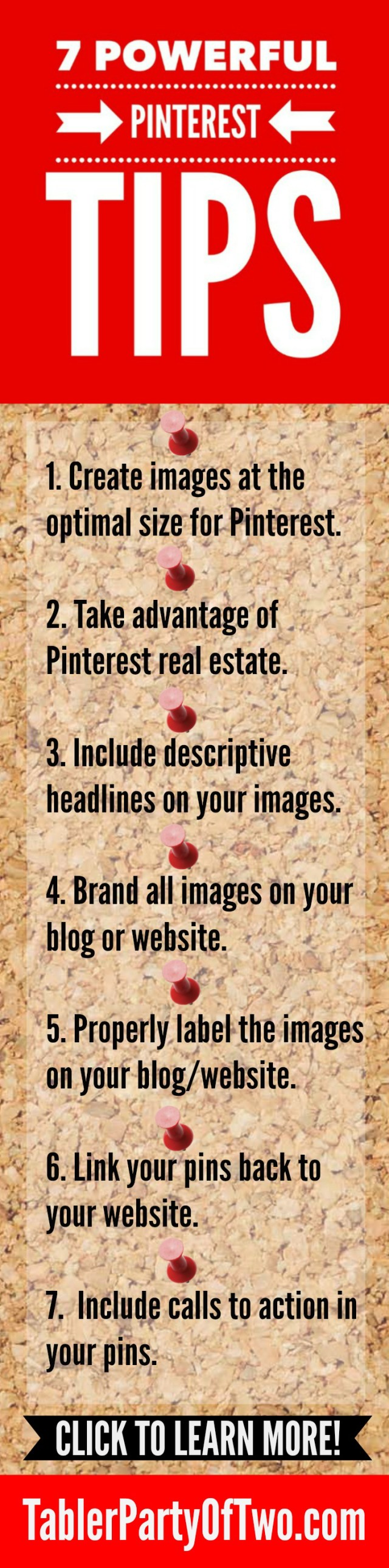 7 Powerful Pinterest Tips you should implement today! TablerPartyofTwo.com