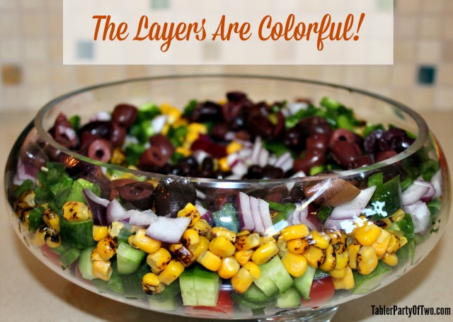 Southwestern Chopped Salad is as pretty as it is delicious!