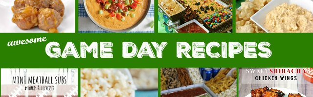 Game Day Recipes & Sunday Features {61}