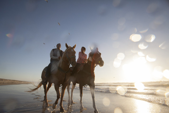 What could be better than a horseback ride on the beach in Monterey?