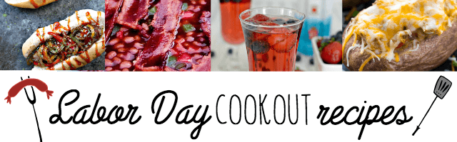Labor Day Cookout Recipes and Sunday Features {92}