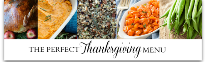 The Perfect Thanksgiving Menu at Sunday Features {103} is Live!