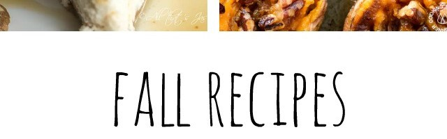 Fall Recipes at Sunday Features {151}