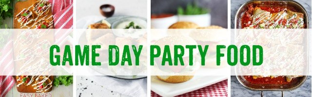 Game Day Party Food and Sunday Features {160}