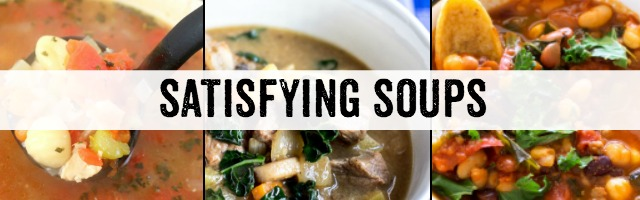 Soups That Satisfy and Sunday Features {164}