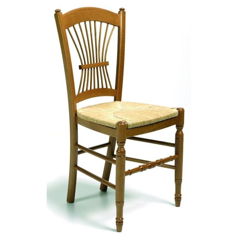 Chaise PROVENCALE en bois et chaise en bois rustique style cuisine salle  manger