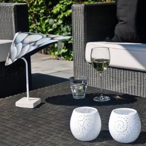 Kleiner Sonnenschirm für den Tisch