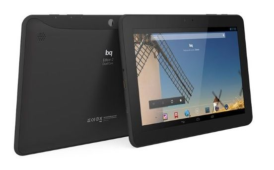 BQ 2 tablet con wifi