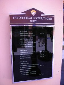 The Offices at Coconut Point Backlit Directories
