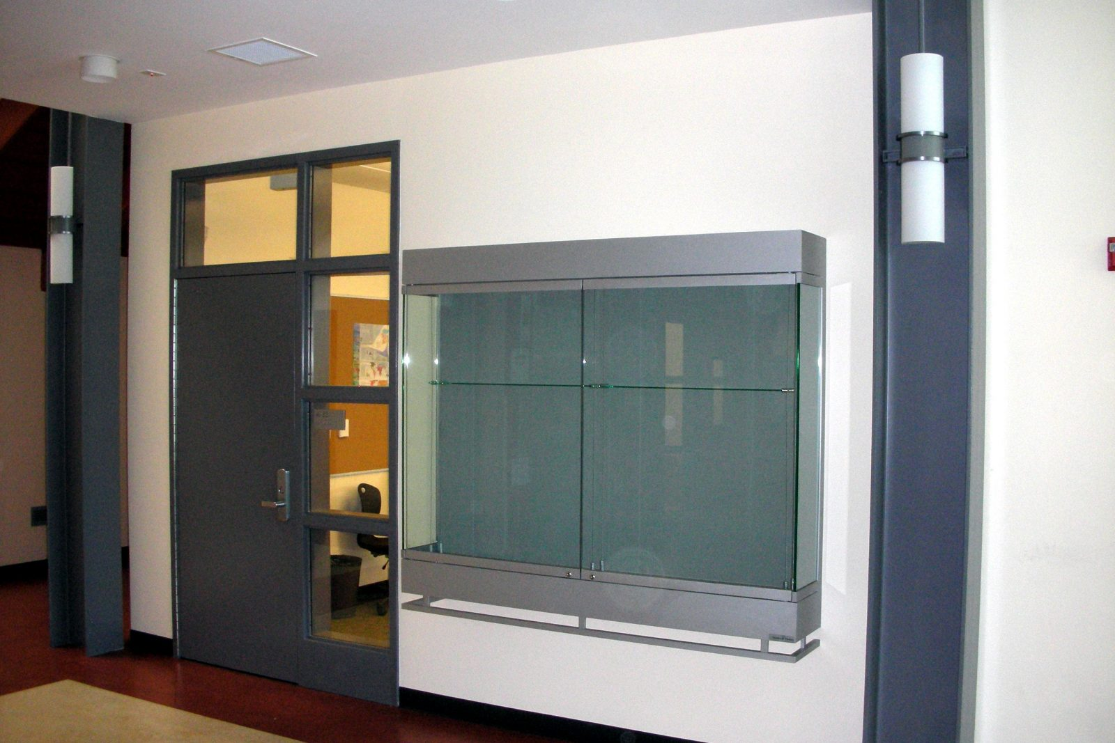 American Canyon High School - CA & Pivot Hinge Door Display Cases - The Tablet u0026 Ticket Co.