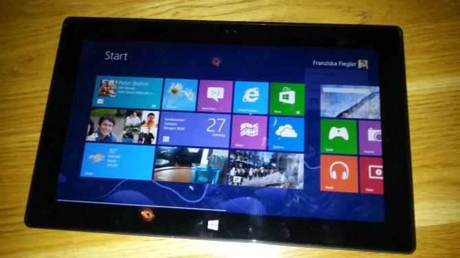 Microsoft Surface Test