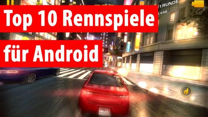 Top Rennspiele für Android