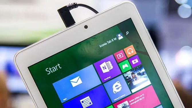 Acer Iconia Tab 8 W Kurztest