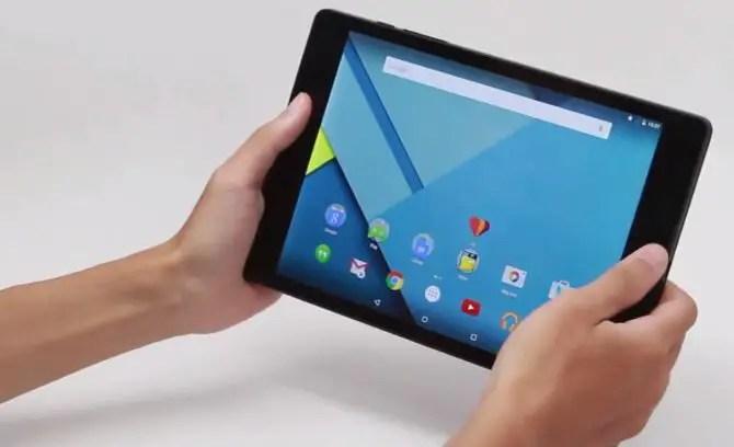 Google Nexus 9 Hands On