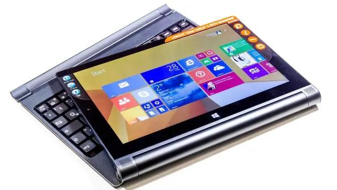 Lenovo Yoga Tablet 2 mit Windows Unboxing
