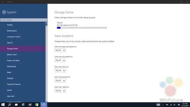 Windows 10 Apps auf SD Karte installieren