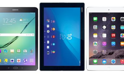 Samsung Galaxy Tab S2 Vergleich mit iPad Air und Sony Xperia Z4 Tablet