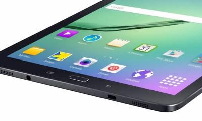 Samsung Galaxy Tab S2 mit Metallrahmen