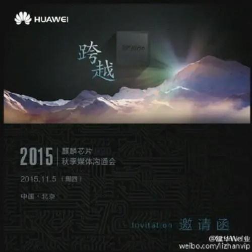 Huawei Kirin Teaser