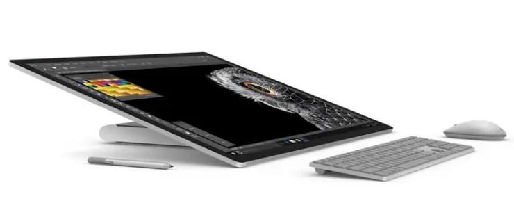 Microsoft Surface Studio Tablet Modus