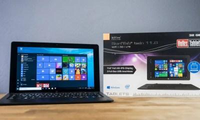 TrekStor SurfTab Twin 11.6 Volks-Tablet ausgepackt
