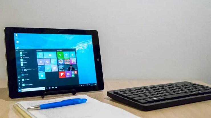 Chuwi Hi10 Plus mit Tastatur