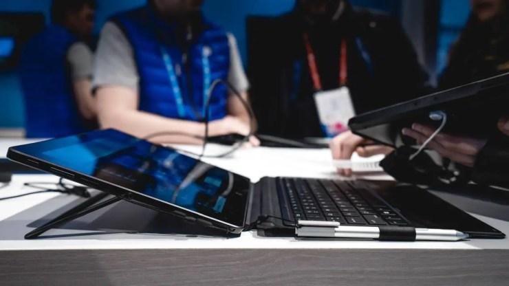 HP Pro X2 Tastatur und Stift