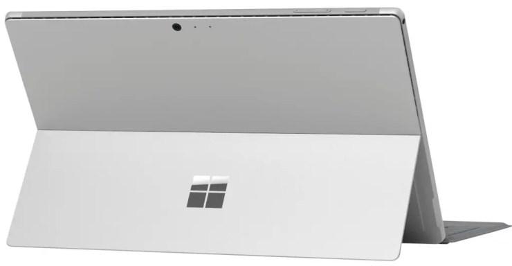 Microsoft Surface Pro Rückseite