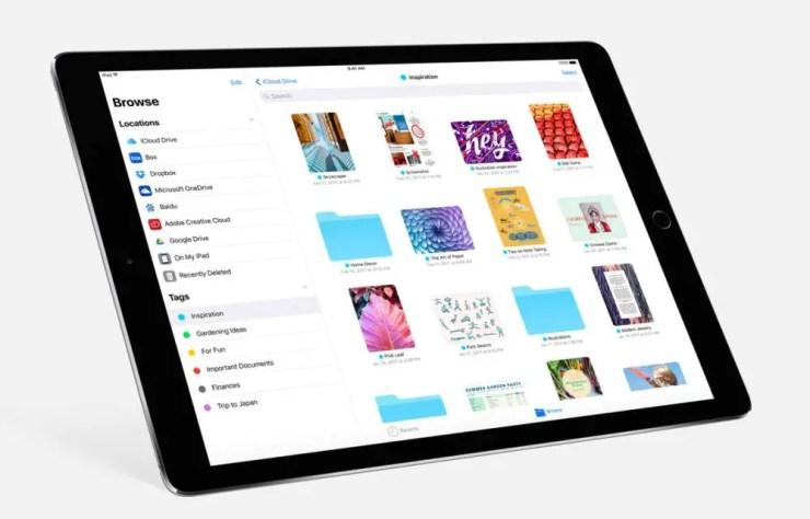 iPad Pro Dateien App