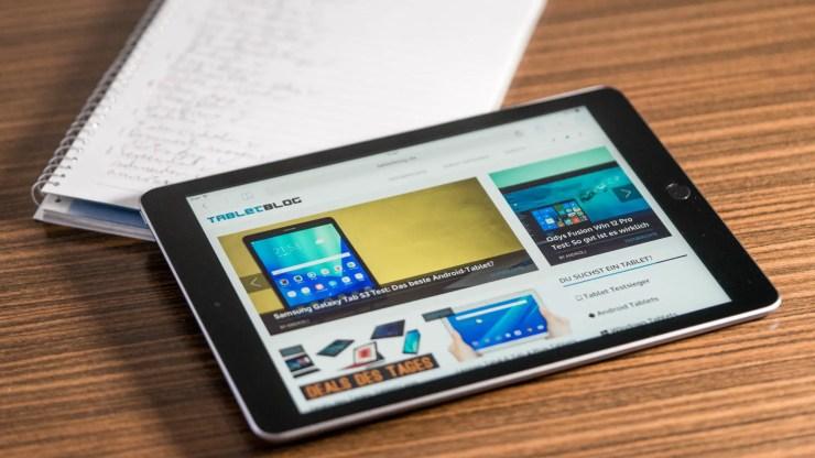 iPad 2017 Browser