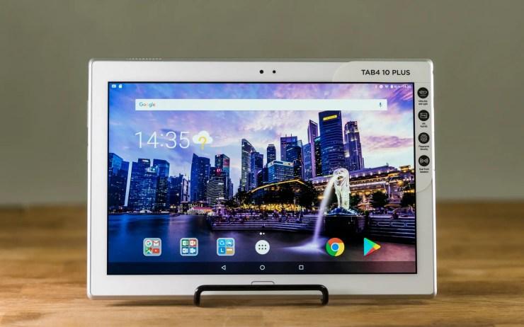 Lenovo Tab 4 10 Plus mit Android 7.0 Nougat