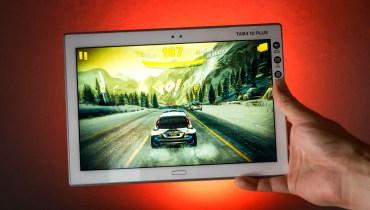 Lenovo Tab4 10 Plus Spiele Test