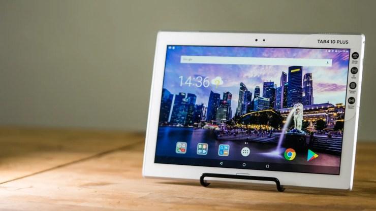 lenovo tab 4 10 plus test so gut ist das android tablet. Black Bedroom Furniture Sets. Home Design Ideas