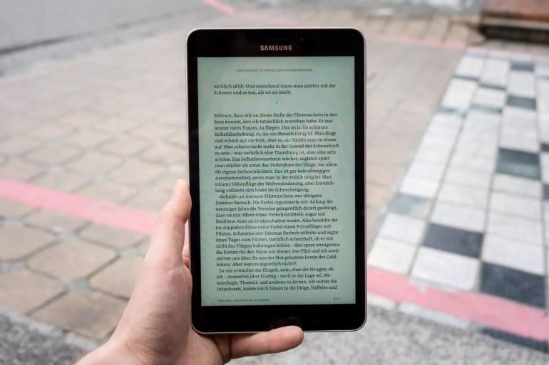 Samsung Galaxy Tab A 8.0 2017 Display