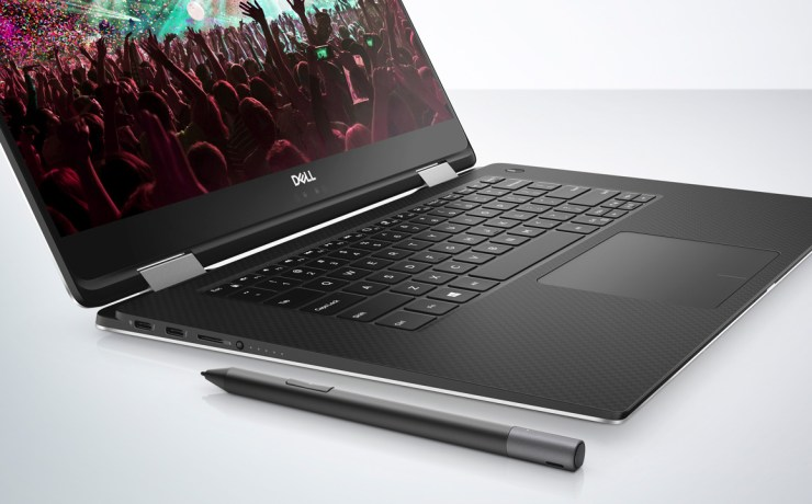 Dell XPS 15 2-in-1 mit Dell Active Pen