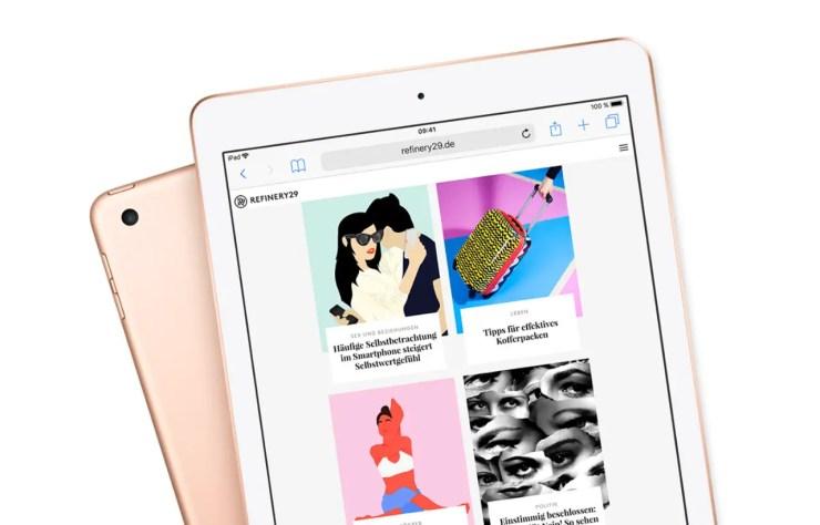 Apple iPad 2018 Design
