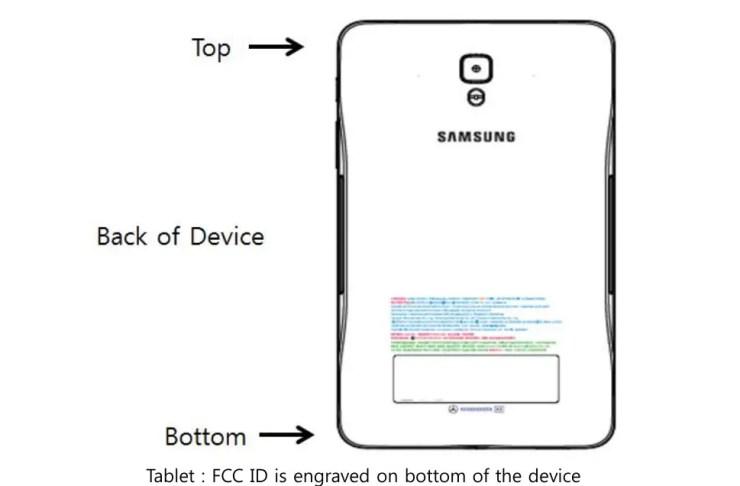 Samsung 7 Zoll Oreo Tablet