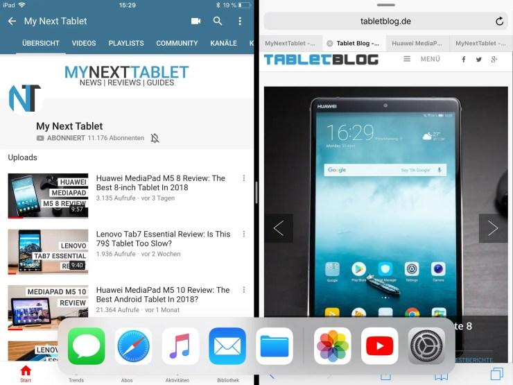 iPad 2018 mit iOS 11