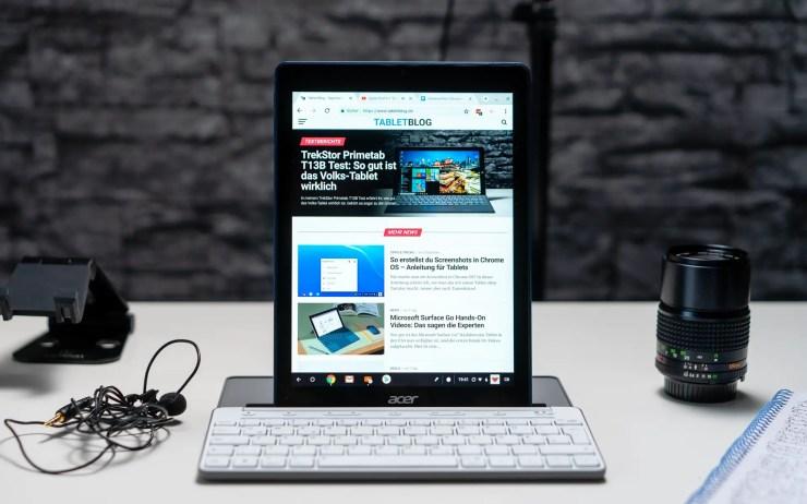 Acer Chromebook Tab 10 Tastatur