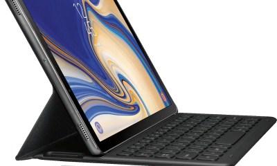 Samsung Galaxy Tab S4 mit Tastatur