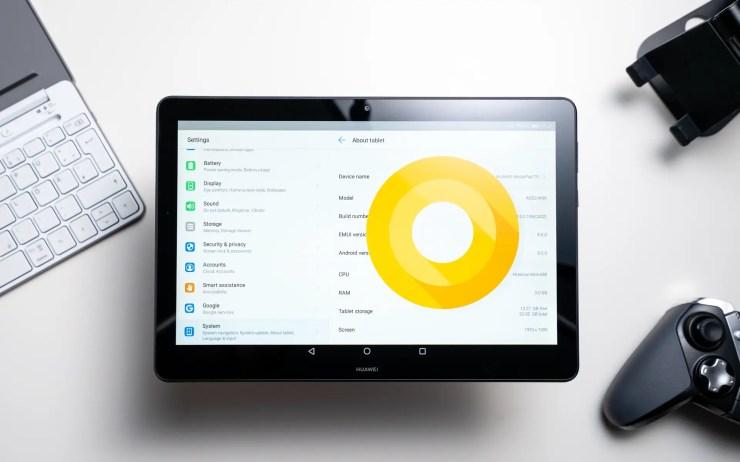 Huawei MediaPad T5 10 mit Android 8.0 Oreo