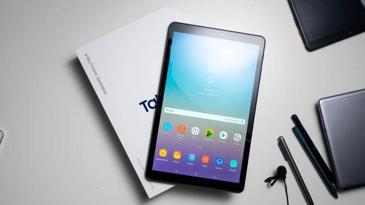 Samsung Galaxy Tab A 10.5 ausgepackt